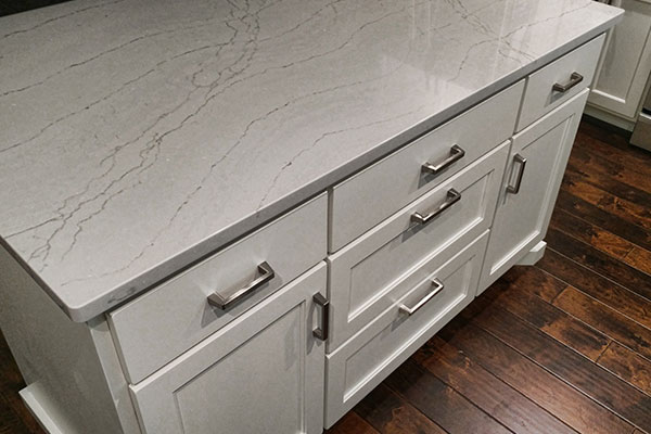 Counter top with drawers
